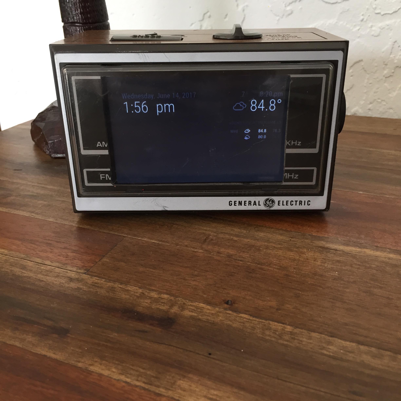 Raspberry Pi installed to Radio